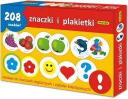 Adamigo Zestaw Edukacyjny Znaczki i Plakietki - 6199
