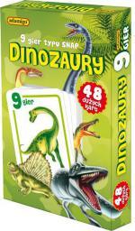 Adamigo Gra Karty Snap  Dinozaury - 6533