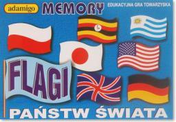 Adamigo Gra Memory Flagi - 3563
