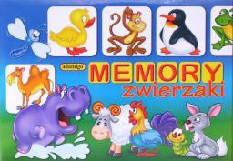 Adamigo Gra Memory Zwierzaki - 5697