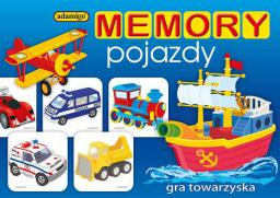 Adamigo Gra Memory Pojazdy - 5710