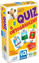 Granna IQ Gra Quiz Ortograficzny - 00147