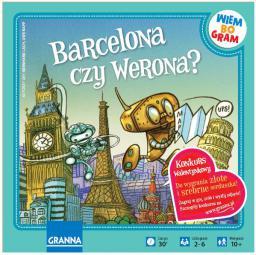 Granna Gra Barcelona czy Werona? - 00197