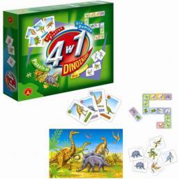 Alexander 4w1 Dinozaury - 0556