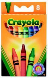 Crayola CRAYOLA Kredki Świecowe 8 szt - 0008