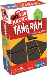Granna GRANNA Gra Tangram podróżna - 00212
