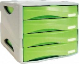 Arda Organizer Smile zielono-biały 4 szuflady (TR15P4PV)