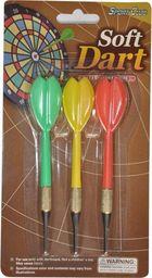 Harrows Komplet 3 rzutek plastikowych do darta Axer Sport rzutki bezpieczne