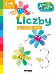 Książka Liczby, Akademia Mądrego Dziecka