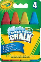 Crayola CRAYOLA Kreda Tęczowa 4 szt. - 03-5217