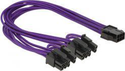 Delock 6pin PCIe -> 2x 8pin 0.30m (83704)