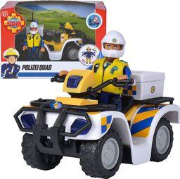 Simba Strażak Sam Quad policyjny z figurką