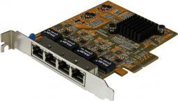 Karta sieciowa StarTech 4-PORT GIGABIT NIC (ST1000SPEX43)