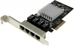 Karta sieciowa StarTech 4-Port Gigabit NIC - PCIe (ST4000SPEXI)