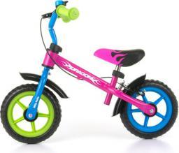 Milly Mally Rowerek biegowy Dragon z hamulcem Multikolor (2152)