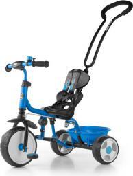 Milly Mally Rowerek Boby 2015 z podnóżkiem niebieski (1360)