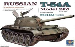 Trumpeter TRUMPETER Russian T54A Model 1951 - 00340