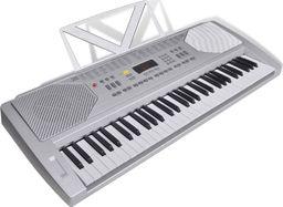 vidaXL Keyboard elektryczny ze stojakiem na nuty