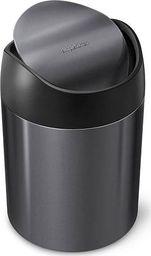 Kosz na śmieci Simplehuman Kosz na toaletkę uchylny 1,5L - czarny / simplehuman
