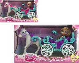 BigBuy Fun Lalka Princess Carriage (110784)
