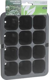 ProGarden 3x Tacka DONICZKA do wysiewu 12 komórek do sadzonek kiełkowania