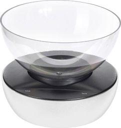 Waga kuchenna Excellent Housewares Waga kuchenna BIAŁA elektroniczna z miską 5 kg