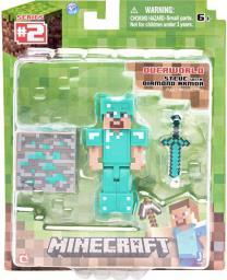 Tm Toys MINECRAFT Diamentowy Steve - MIN16504