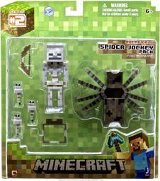 Tm Toys MINECRAFT Zestaw Spider Jockey - MIN16451