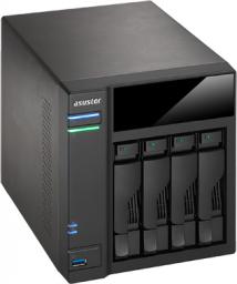 Serwer plików Asustor AS-6104T  (90IX00H1-BW3S10)