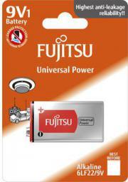 Fujitsu Alkaline Universal Power 6LR61/9V FU-6LF22-1B