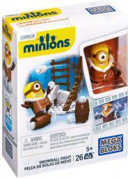 Mega Bloks Minionki - Walka na śnieżki (CNF47/CNF48)