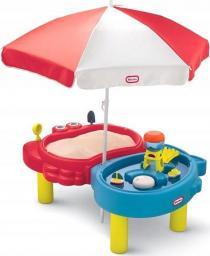 Little Tikes Piaskownica Wodny stół z parasolem