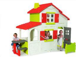 Smoby SMOBY Duplex Domek Piętrowy - 7600320023