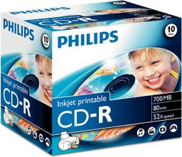 Philips CD-R 700MB, 10szt. (CR7D5JJ10/00)