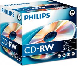 Philips CD-RW 700MB 10szt. (CW7D2NJ10/00)