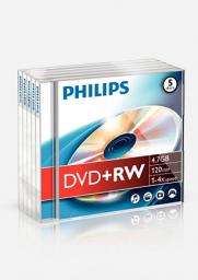 Philips DVD+RW 4.7GB (DW4S4J05F/10)