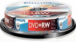 Philips DVD+RW 4,7GB 10szt. (DW4S4B10F/10)