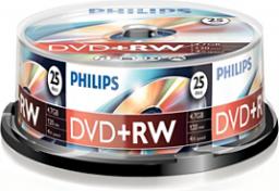 Philips DVD+RW 4,7GB 25szt. (DW4S4B25F/00)