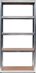 MSW Regał magazynowy 5 poziomów 180x90x40 - nośność 875 kg