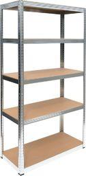 MSW Regał magazynowy 5 poziomów 180x90x40 - nośność 500 kg