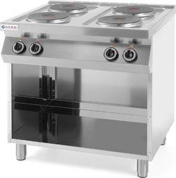 Kuchenka wolnostojąca Hendi Kuchnia elektryczna wolnostojąca na podstawie stalowej 4 x 2.6kW szer. 80cm