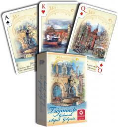 Cartamundi Karty Akwarele - Trójmiastob 55l. (1289000379)