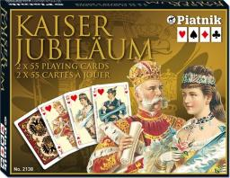 Piatnik PIATNIK KARTY LUX 2 TALIE KAISER - 213847