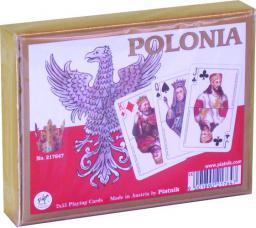 Piatnik PIATNIK KARTY LUX 2 TALIE POLONIA - 2176