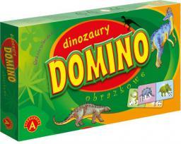 Alexander ALEXANDER Gra Domino Dinozaury - 0555