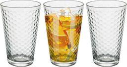 Excellent Housewares Szklanka do wody napojów soku lemoniady drinków 300ml 3 sztuki