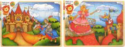 Brimarex BRIMAREX Drewniane Puzzle  Królestwo - 1566607