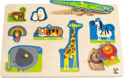 Hape Dzikie zwierzęta  puzzle E1403