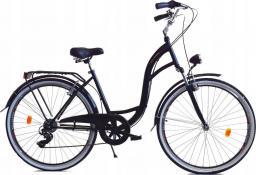 Dallas Bike Rower miejski 28'' 7-biegowy czarny SPD LUX