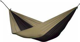 Parachute Hamak turystyczny dwuosobowy Parachute, brązowo-czarny PAR2